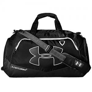 Under Armour Undeniable Duffle 2.0 Gym Bag, Black /White, Medium 16PM1263967_1-XXS