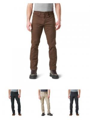 5.11 Tactical Defender-Flex Slim, Stone, 38 inch Waist, 36 inch Inseam, 74464-070-38-36 744640703836