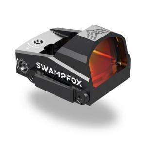Swampfox Kingslayer 1x22 Micro Pistol Cut Reflex Dot Sight, Red Circle Dot Reticle, Matte Black, OKS00122-RC 889157000916