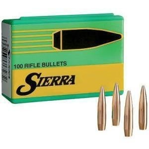 sierra matchking 30 caliber 7 62mm 308 168 gr hpbt match box of
