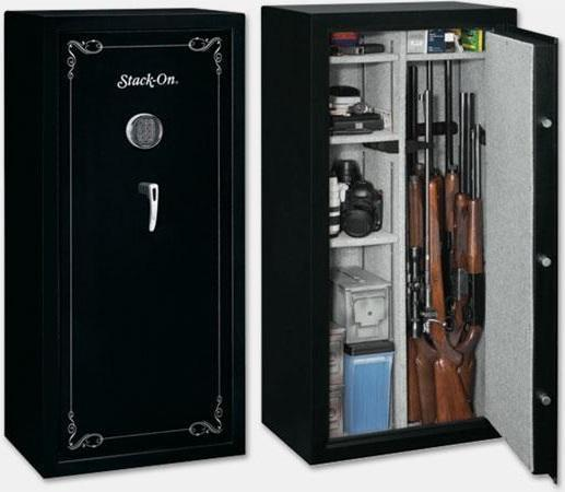 Stack-On 22 Gun Security Safe with Electronic Lock SS-22-MB-E ...