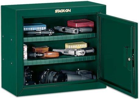 Stack-On GCG-900 Steel Pistol/Ammo Cabinet, Green - $47.42 + Free ...
