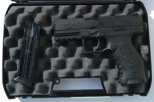 Walther PPX 40 S&W Black Pistol W/2 14 Rd Magazines - $269 89