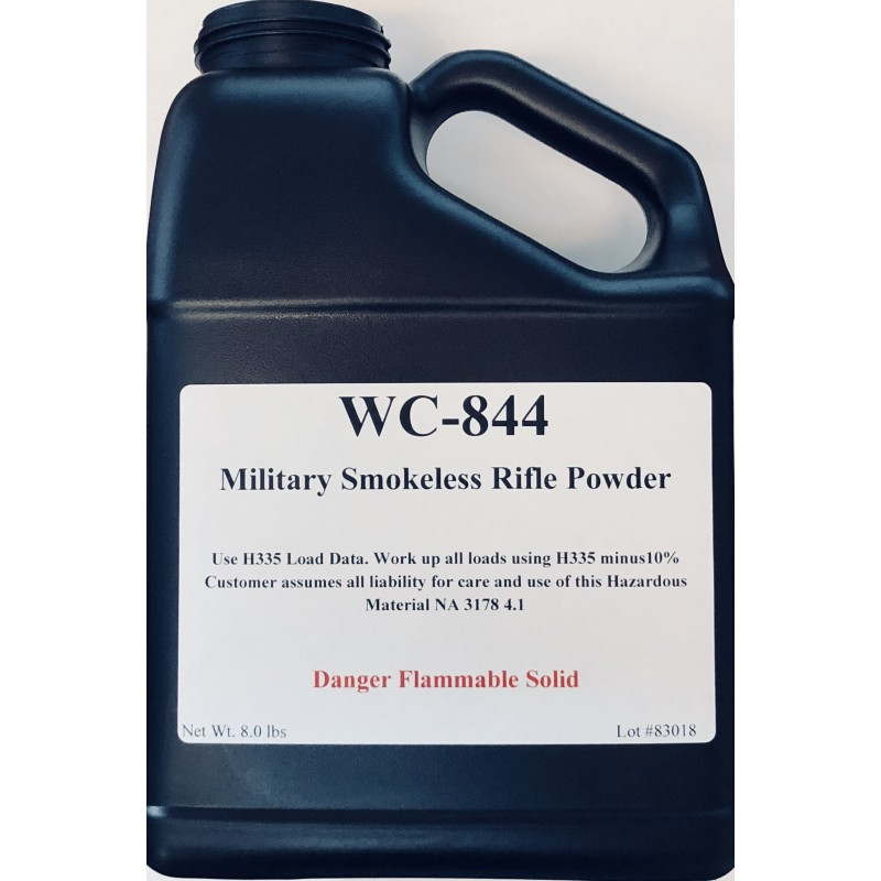 15% Off WC-844 Military Smokeless Rifle Powder - 16 lbs w/ code