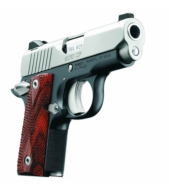 Kimber 1911 Micro Pistols: Kimber 1911 Micro CDP .380 ACP 2.75in Stainless/Blue 6+1rd