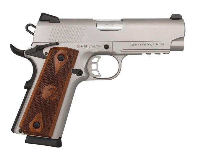 Zenith Tisas ZiGana PCS  45 ACP 1911 Pistol 4